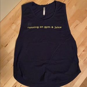 Fabletics muscle tank top